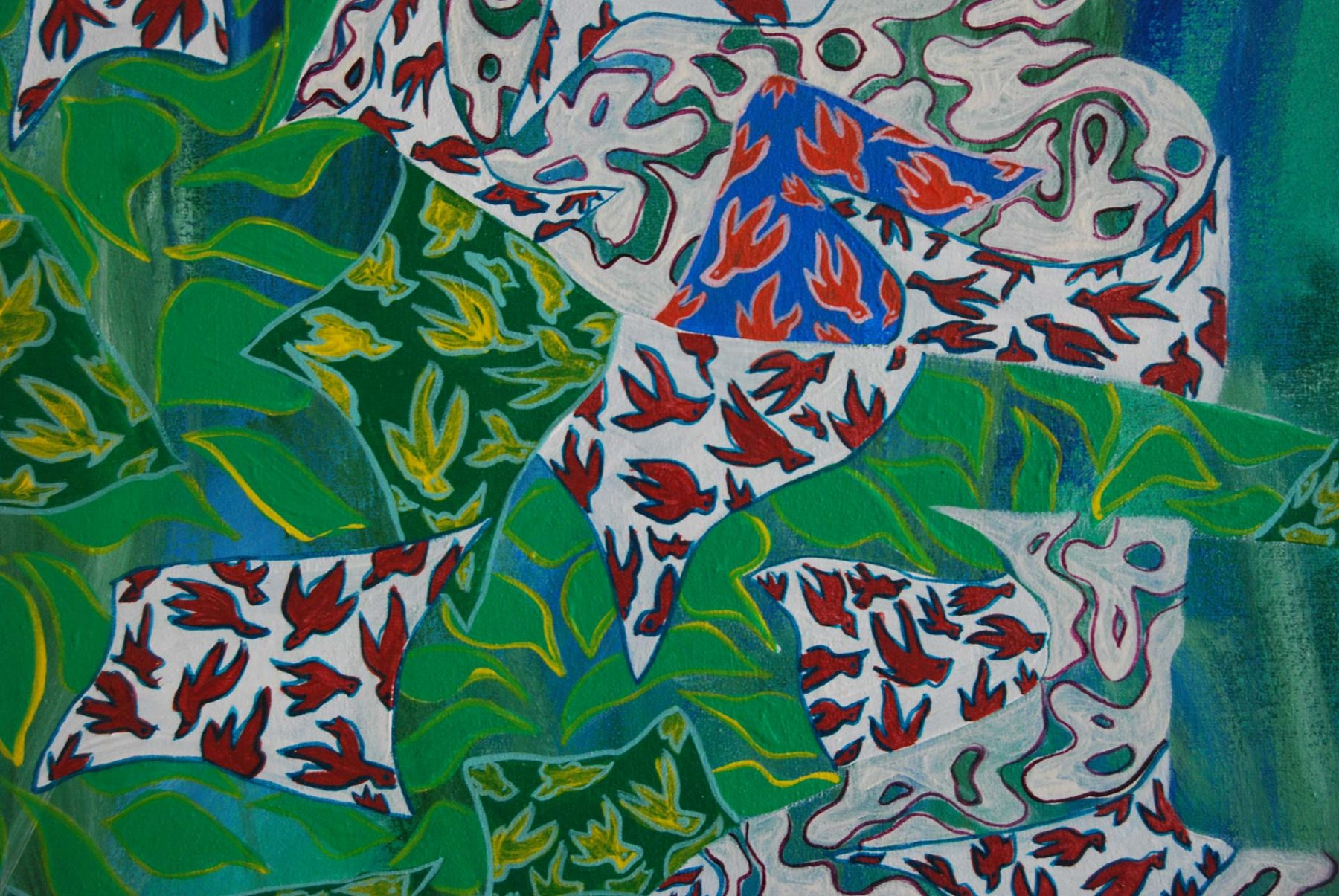 Spring Fajr Landscape, detail 1