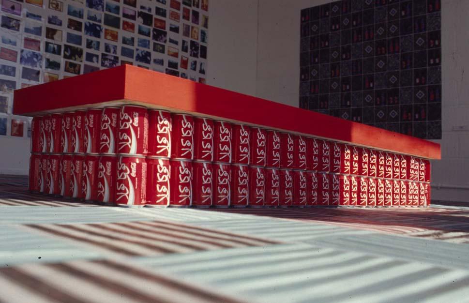 Morrocan Coke Table (1996) mixed media, Newcastle (UK)