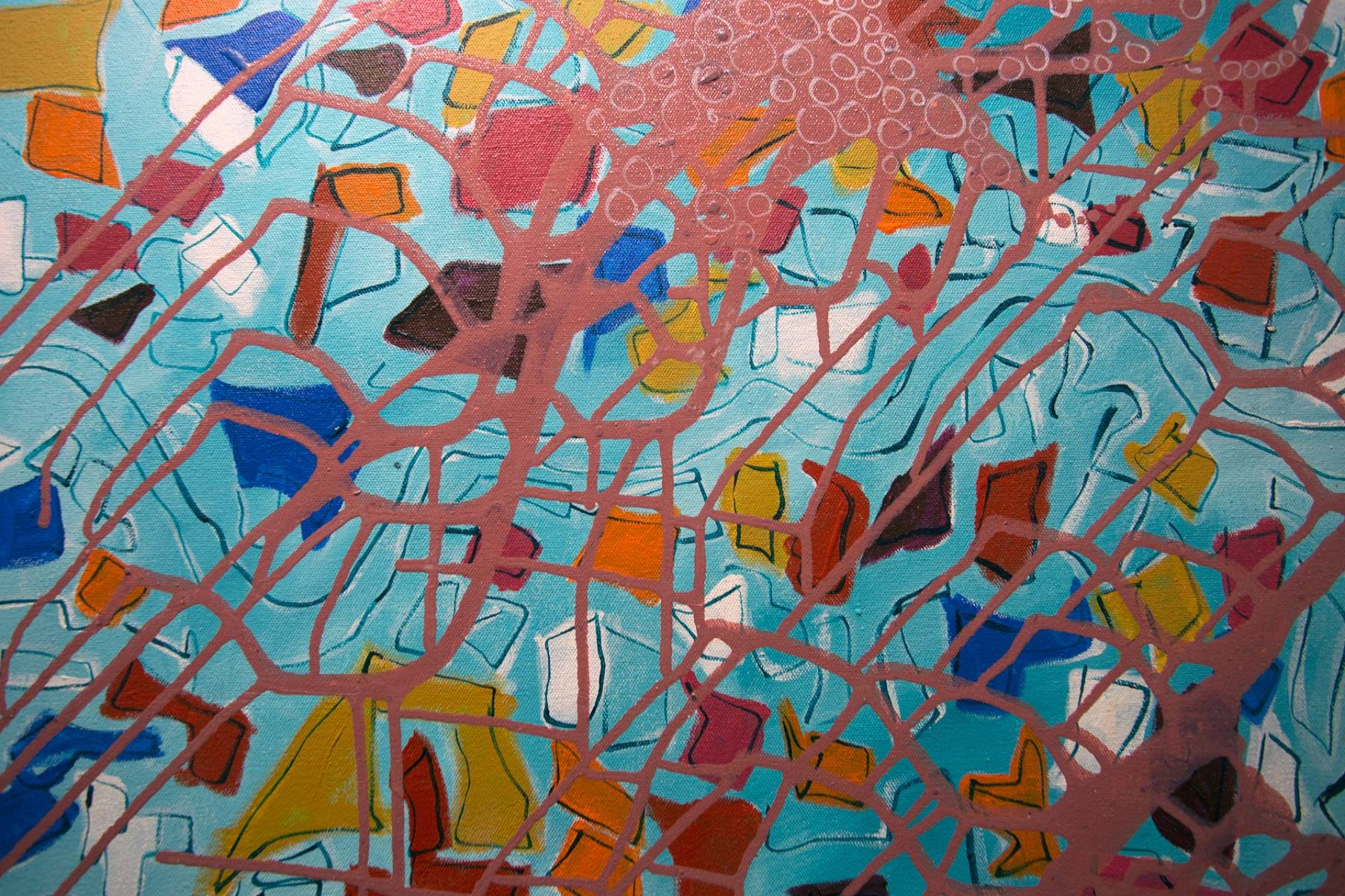 Flood in the Sky, detail 1