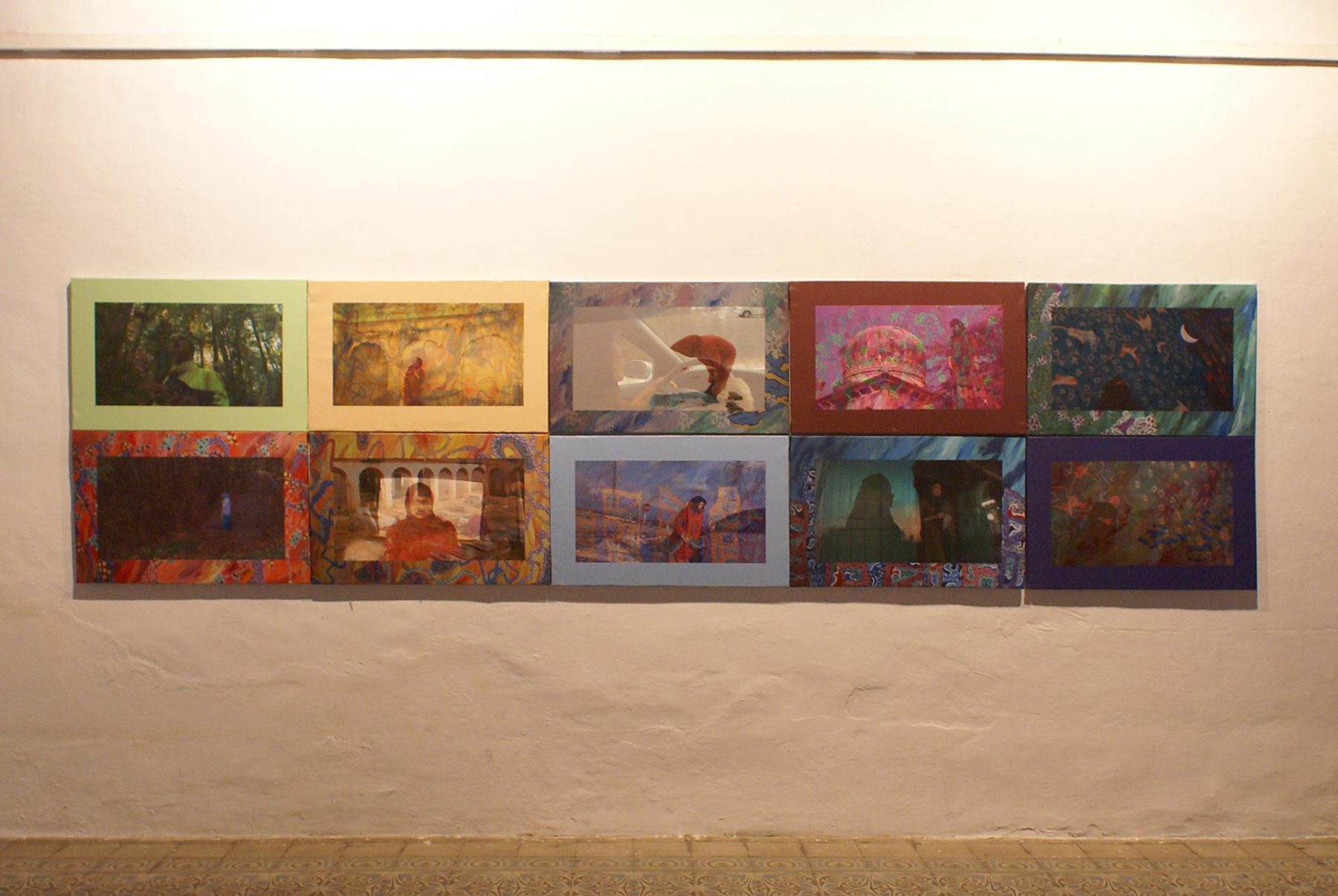 Salaat, view 3 (2011) mixed media installation