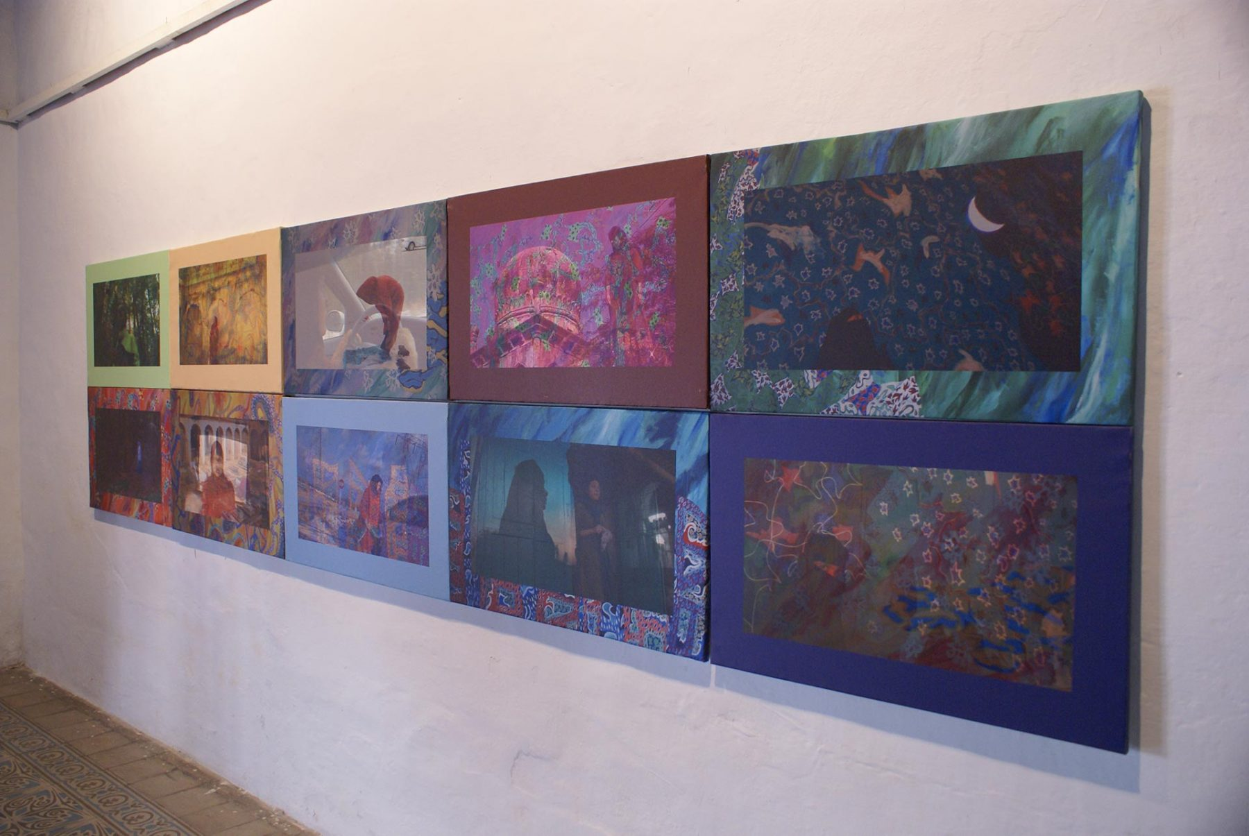 Salaat, view 5 (2011) mixed media installation