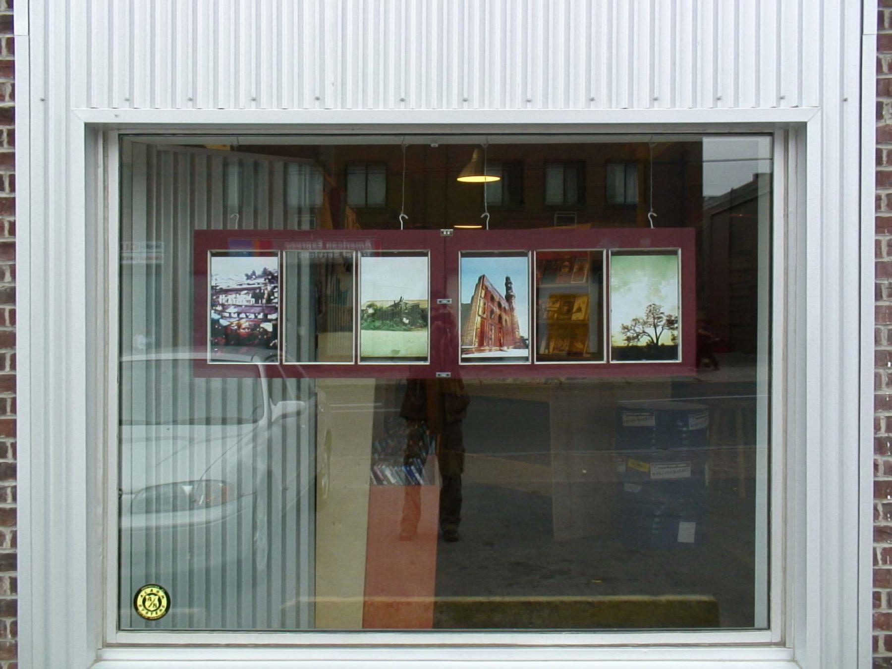Autumn Landscape (2007) mixed media, Peterborough (Canada)