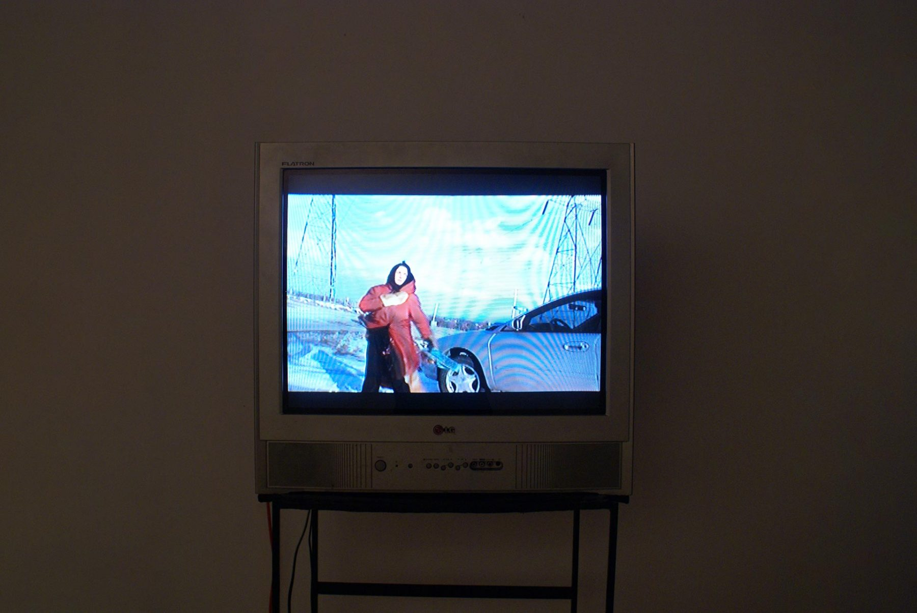 Salaat, video, detail 1 (2011) mixed media installation