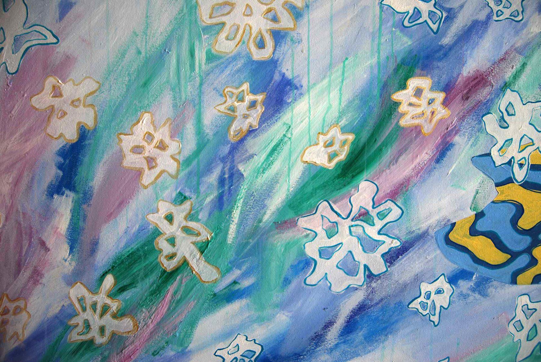 Winter Isha Landscape, detail 3