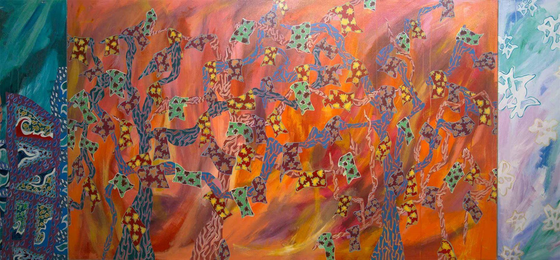 Salaat Five Seasons, detail 4