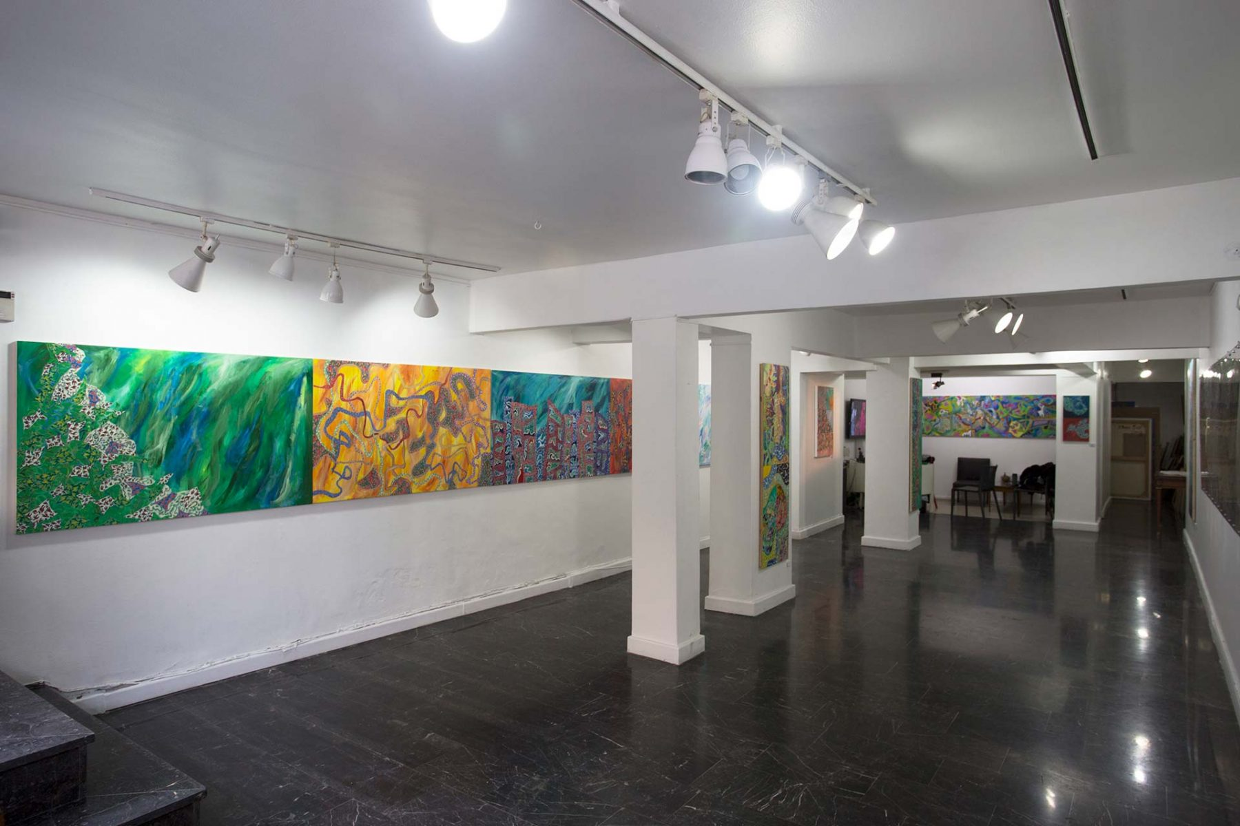 Cinematic Landscapes, installation, view 1