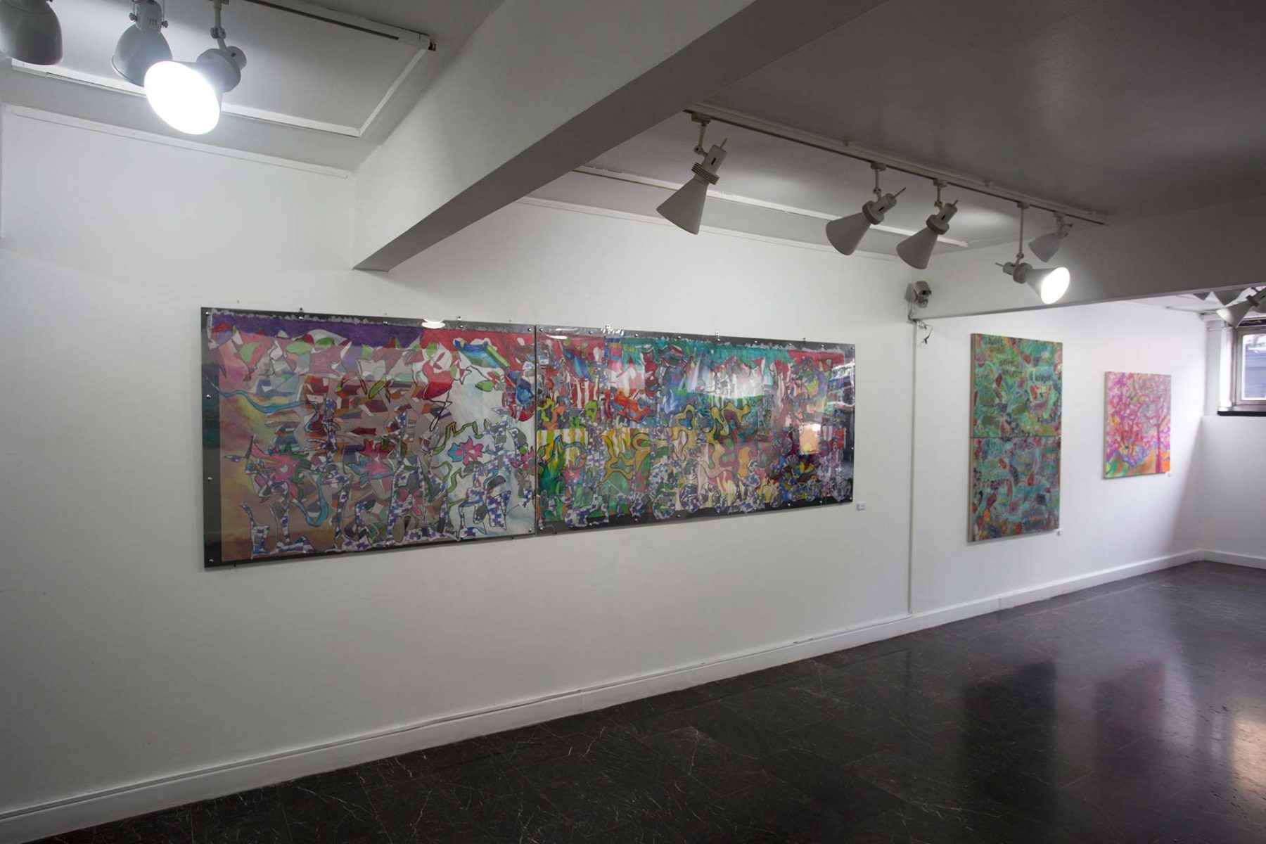 Cinematic Landscapes, installation, view 2
