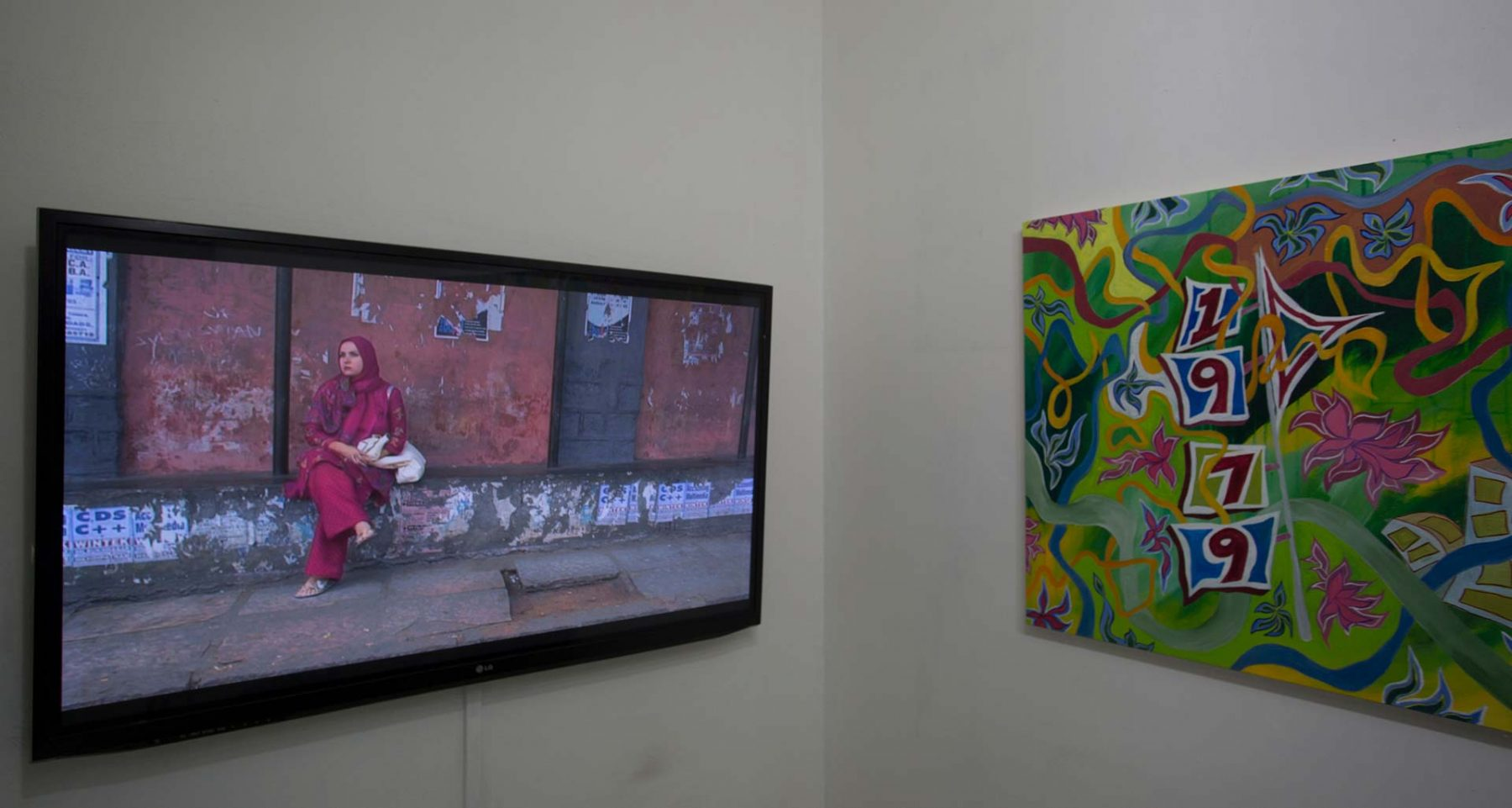 Cinematic Landscapes, installation, view 5