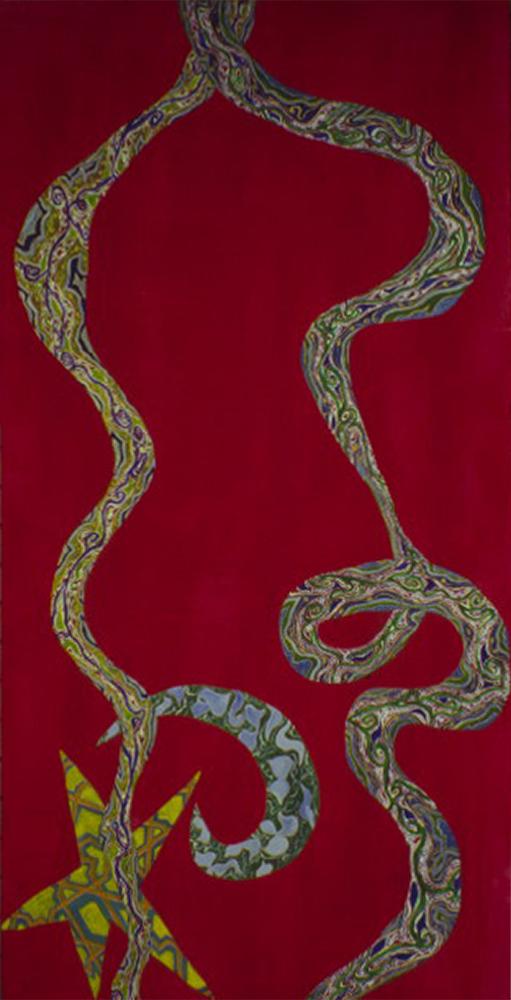 Towards Paradise (1994) acrylic on canvas