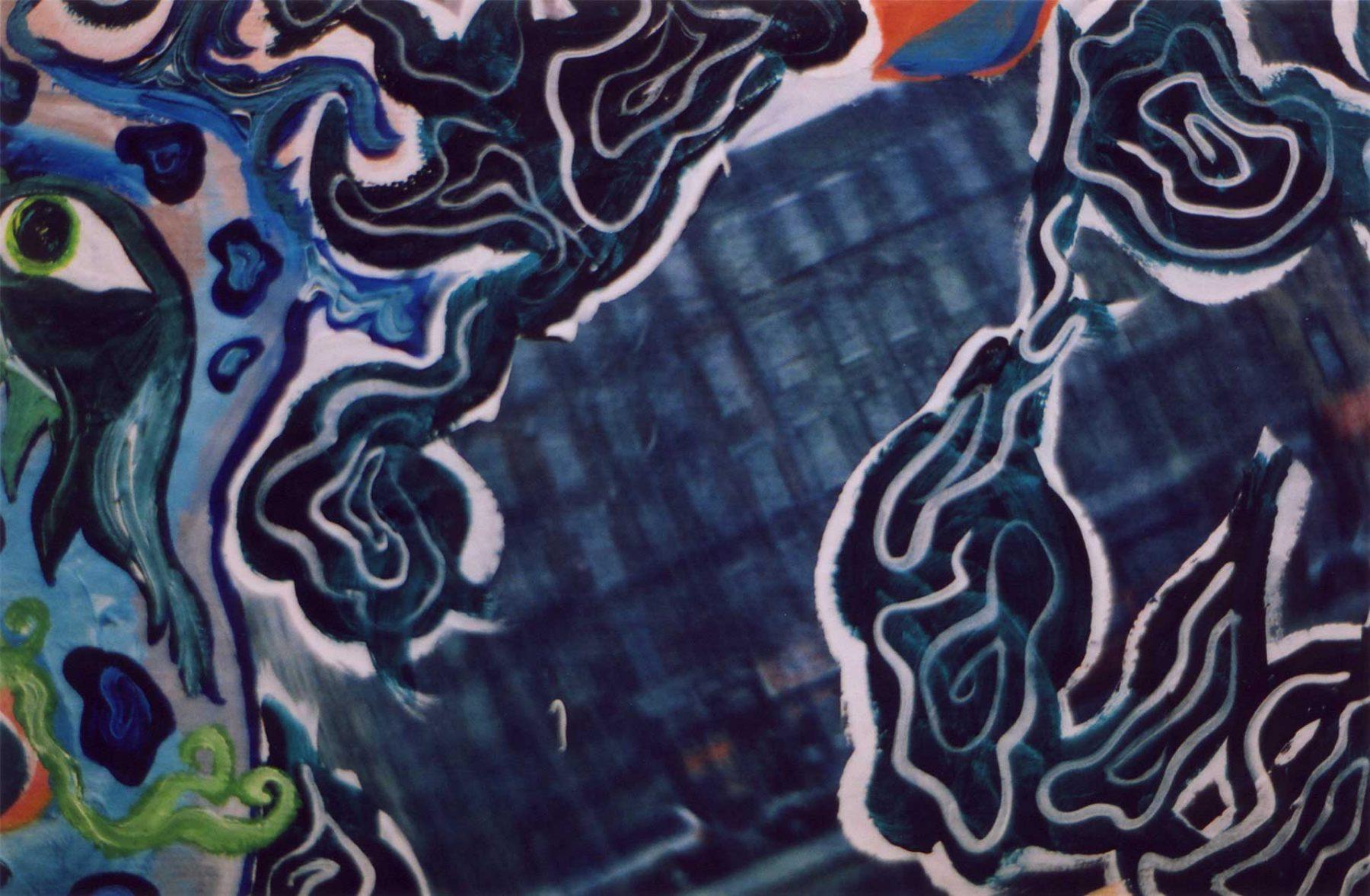 Drifting with the Dragon (Homage to Hamzanama) (2003) detail 2